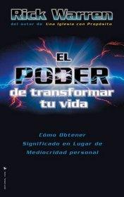 Poder de Trasformar Tu Vida, El