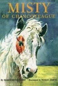 Misty of Chincoteague (Marguerite Henry Horseshoe Library)