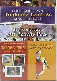 Toulouse-Lautrec Art Activity Pack (Boxed Sets/Bindups)