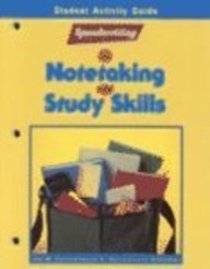 Speedwriting for Notetaking and Study Skills, Student Activity Guide