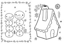 Dream Doodle Draw! Gift Set: Animals; Patterns; Snow