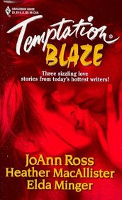 Temptation Blaze: Midnight Heat / A Lark in the Dark / Night Fire