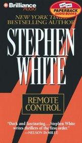 Remote Control (Dr. Alan Gregory, Bk. 5) (Audio Cassette) (Abridged)