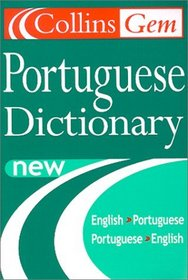 Collins Gem Portuguese Dictionary English-Portuguese, Portuguese-English