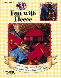 Gooseberry Patch Fun with Fleece (Leisure Arts #3771)
