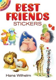 Best Friends Stickers (Dover Little Activity Books)