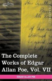 The Complete Works of Edgar Allan Poe, Vol. VII (in ten volumes): Criticisms