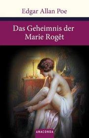 Das Geheimnis der Marie R�get