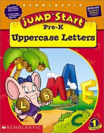 JumpStart Pre-K Uppercase Letters Workbook