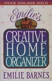 Emilie's Creative Home Organizer