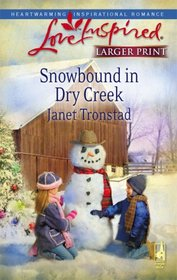 Snowbound in Dry Creek (Dry Creek, Bk 14) (Love Inspired, No 465) (Larger Print)