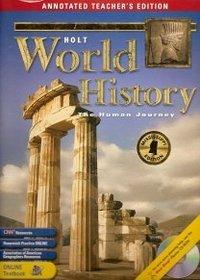 Holt World History: The Human Journey