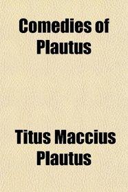 Comedies of Plautus