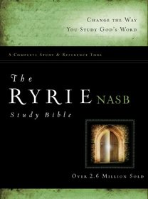 The Ryrie NAS Study Bible Hardback Red Letter (Ryrie Study Bibles 2008)