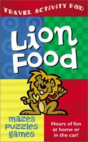 Lion Food Travel Activity Pad: Hours of Fun at Home or in the Car!