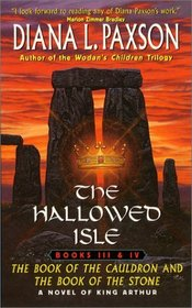 The Book of Cauldron and the Book of the Stone (The Hallowed Isle, Books 3 and 4)