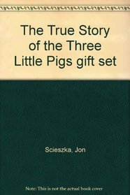 The True Story of the Three Little Pigs gift set