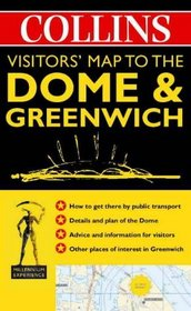 Visitor's Map to the Dome  Greenwich