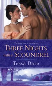 Three Nights with a Scoundrel (Stud Club, Bk 3)