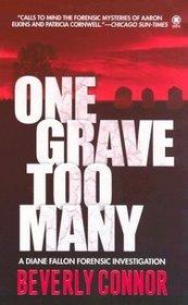 One Grave Too Many (Diane Fallon, Bk 1)