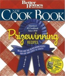 New Cook Book, Prizewinning Recipes Limited Edition (Better Homes & Gardens)