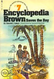 Encyclopedia Brown Saves the Day #7