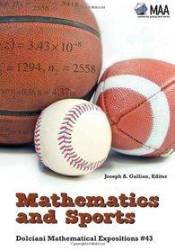 Mathematics and Sports (Dolciani Mathematical Expositions)