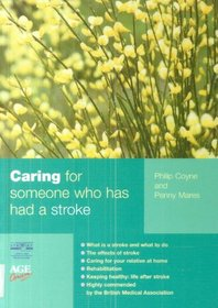 Caring for Someone Who Has Had a Stroke (Carers Handbook)