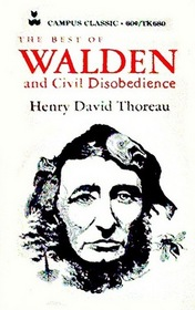 The Best of Walden  and Civil Disobedience