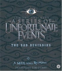 The Bad Beginning (A Series of Unfortunate Events, Bk 1) (Audio CD) (Unabridged)