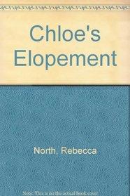 Chloe's Elopement