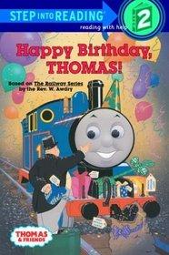 Happy Birthday, Thomas! (Step-Into-Reading, Step 2)