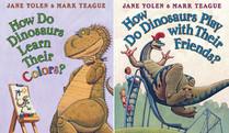 How Do Dinosaurs Learn Their Colors? / How Do Dinosaurs Play with Their Friends (Flip Book) (How Do Dinosaurs...)