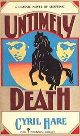 Untimely Death : An Inspector Mallett and Francis Pettigrew Mystery
