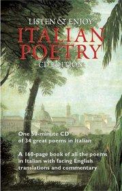 Listen & Enjoy Italian Poetry (CD Edition) (Listen & Enjoy)
