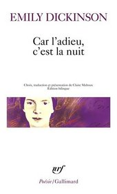 Car L Adieu, C Est La Nuit (Poesie/Gallimard) (French Edition)