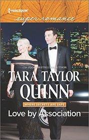Love by Association (Where Secrets are Safe, Bk 7) (Harlequin Superromance) (Larger Print)