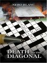 Death on the Diagonal (Crossword Mystery, Bk 12) (Large Print)