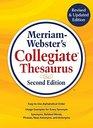 Merriam-Webster's Collegiate Thesaurus New 2019 Copyright