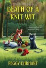 Death of a Knit Wit (A Knit & Nibble Mystery)