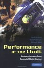 Performance at the Limit  Business Lessons from Formula 1 Motor Racing