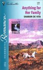 Anything For Her Family - Saddle Falls (Silhouette Romance, No 1580)
