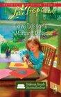 Love Lessons (Homeschool, Bk 1) (Love Inspired, No 554)