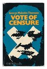Vote of censure