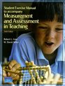 Student Exercise Manual for Measurement and Assessment in Teaching