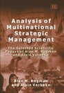 Analysis of Multinational Strategic Management The Selected Scientific Papers of Alan M Rugman And Alain Verbeke