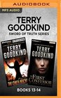 Terry Goodkind Sword of Truth Series Books 13-14 The Omen Machine  The First Confessor