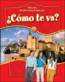 Glencoe Middle School Spanish  Cmo te va Intro Nivel rojo Student Edition
