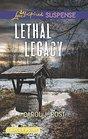Lethal Legacy (Love Inspired Suspense, No 702) (Larger Print)
