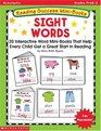 Reading Success Mini-Books Sight Words